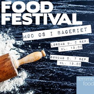 Ses vi i næste weekend til Food Festival 2014 på Tangkrogen i Aarhus?