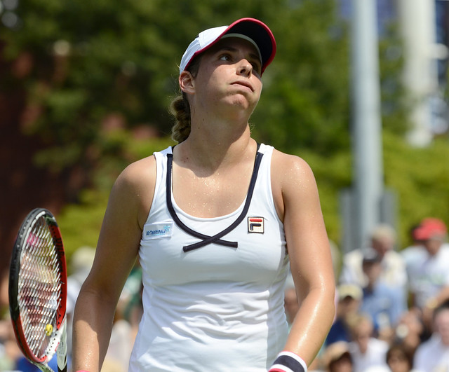 2014 US Open (Tennis) - Tournament  - Marina Erakovic