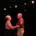 The Last Romance Photo Credit John Gary Brown 2014 - Pictured: Christy Brandt (Carol) and John S. Green (Ralph)