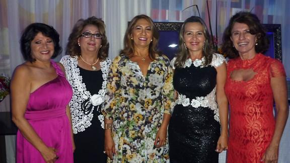 Dalva Martins, Betania Conrado, Ruth Oliveira, Suely Matos e Darenice Dantas
