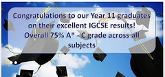 Varee International Chiang Mai School IGCSE results from exams