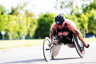 Phil Hogg, SALTO Systems / free2move.org paratriathlete, takes silver at the Paratriathlon World Champs in Edmonton, Canada