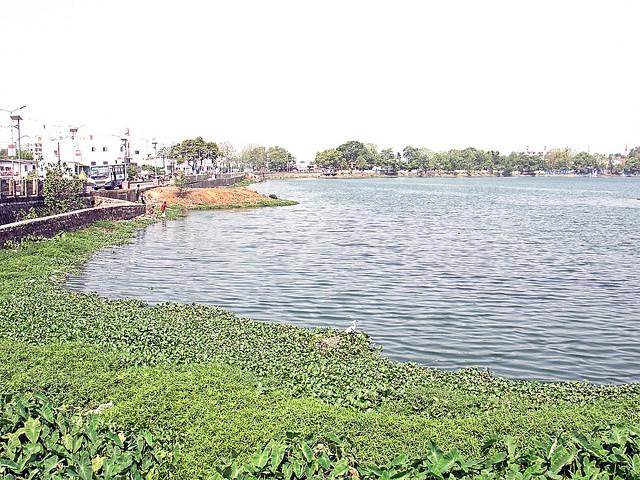 रायपुर का तालाब