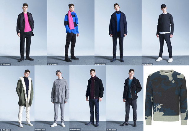 Whistles-menswear-collection-autumn-winter-trends, camouflage style sweater, pink fluffy sweaters, pink fluffy jumpers for men, menstyle, menswear, autumn-winter from the menswear collection, autumn-winter trends, autumn-winter trends for men, menswear collection, menswear, Whistles menswear collection, fluffy sweaters for men, pink sweaters for men, how to style a men's pink sweater, pink jumper