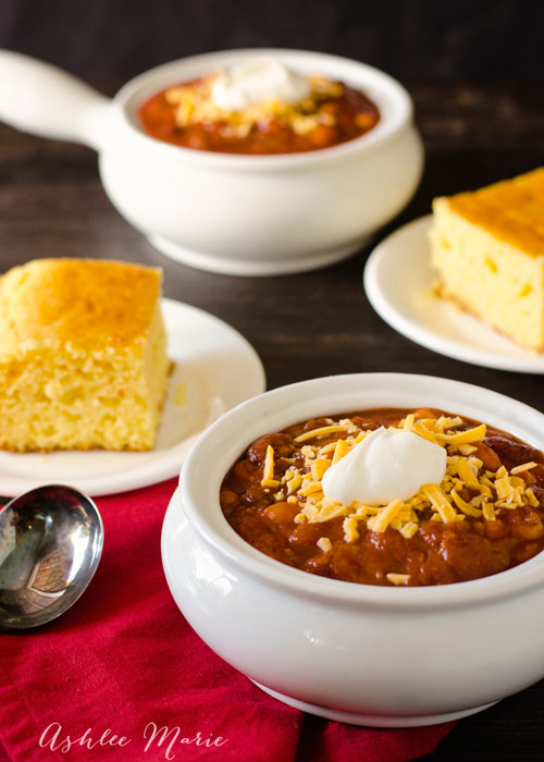 an easy beef chili recipe