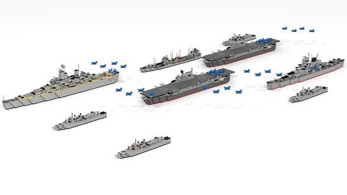 WWII fleet