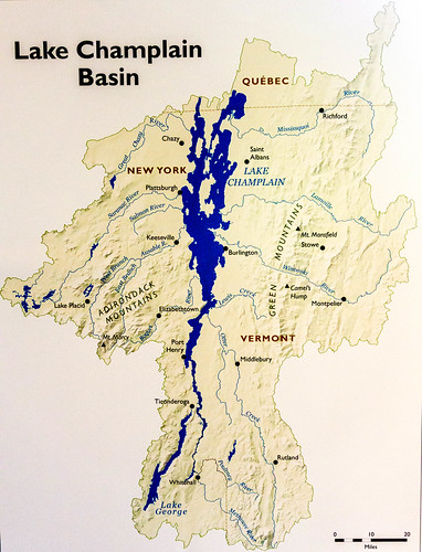 USDA Unites With Partners To Improve Water Quality In Lake - Lake champlain on us map