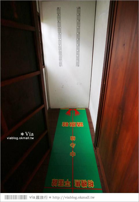 【彰化員林景點】警察故事館~舊警察日式宿舍改造成故事館‧大人小孩同遊好趣味!30