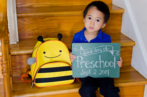 Elliot's First Day of Preschool