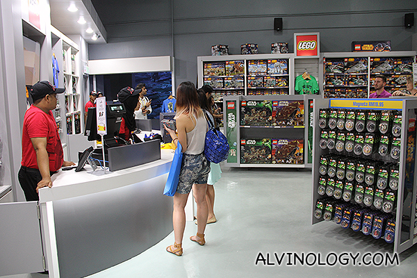Retail section