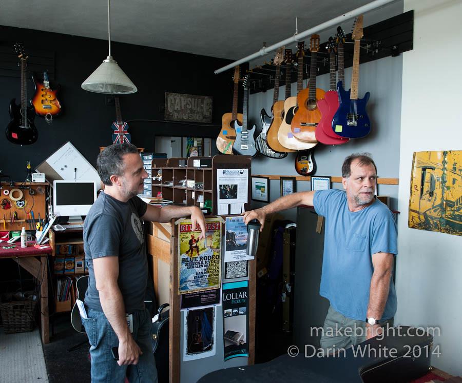 Bob Egan shop visit 049