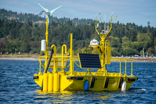 Offshore Wind Buoy Afloat