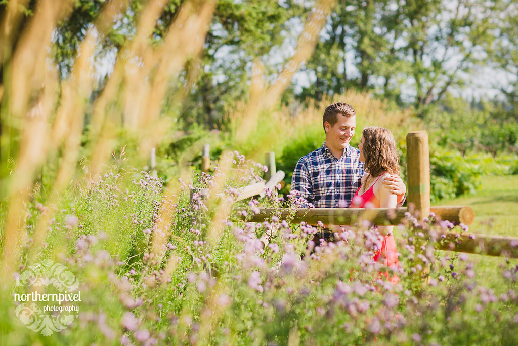 Huble Homestead Engagement Session Prince George Photographer