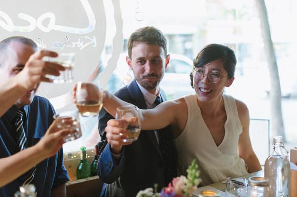 Celine Kim Photography intimate High Park Parkdale restaurant wedding Toronto wedding EM-89