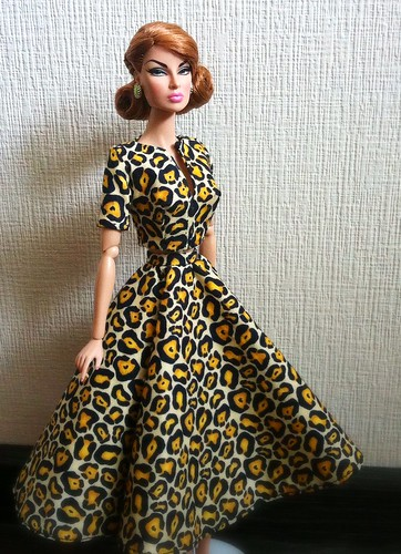 Eugenia Perrin frost in leopard. Why not?