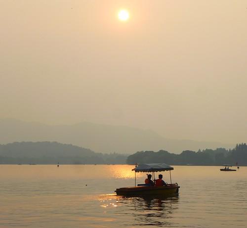 Zhejiang-Hangzhou-Lac-Coucher de soleil (49)