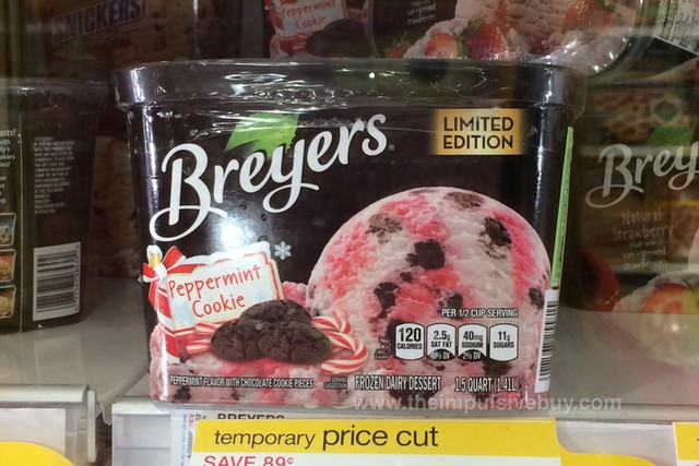 Breyers Limited Edition Peppermint Cookie