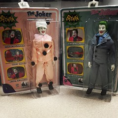 @figurestoycompany exclusive 1966 Batman tv show Jokers are in hand! Review coming soon!