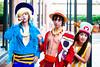 Sanji, Monkey D. Luffy & Tony Tony Chopper
