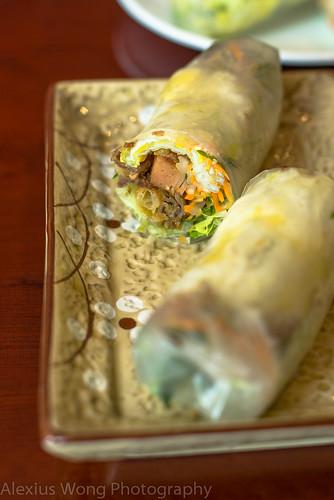 Pleiku style Rice Paper Rolls