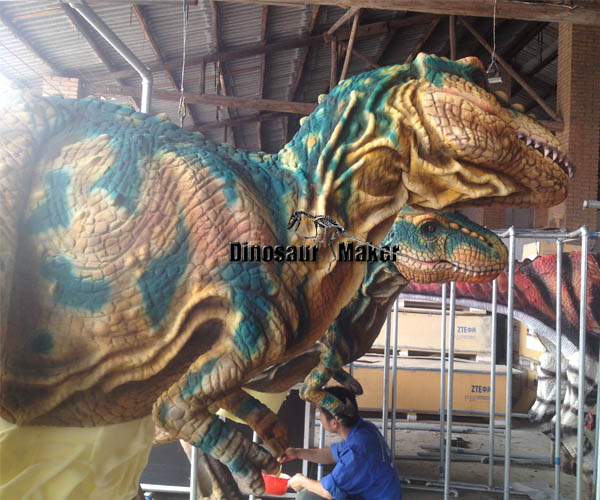 Customized Dinosaur Suit