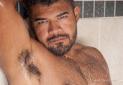 arizona hairy wet phoenix pits shower rico latino hispanic