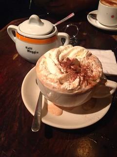 At Cafe Reggio