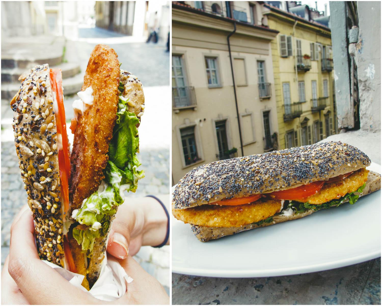 Universo Vegano Vegan Chop Sandwich