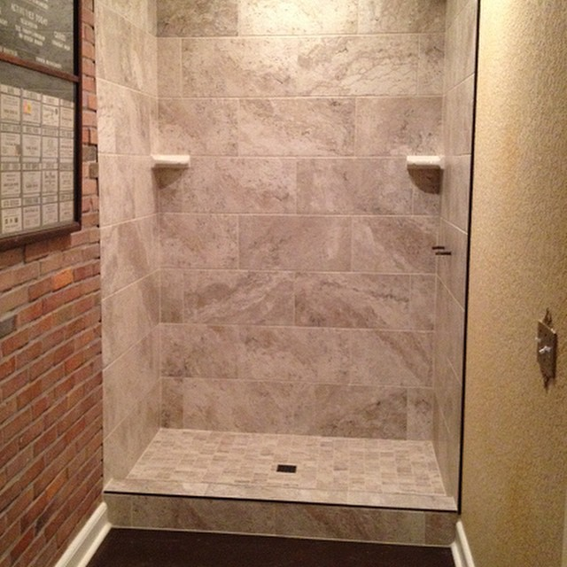 Finished The Lutz Florida Master Bath Stand Up Shower