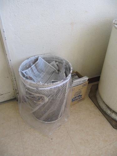 金沢競馬場のゴミ箱
