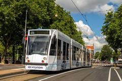GVB Combino tram 2092, Lijn 7, Elandsgracht