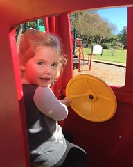 Darcy at the park