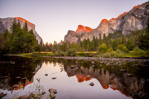 Valley View Sunset, Yosemite National Park