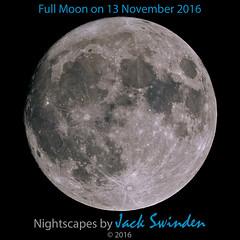 Full Moon on 13 November 2016