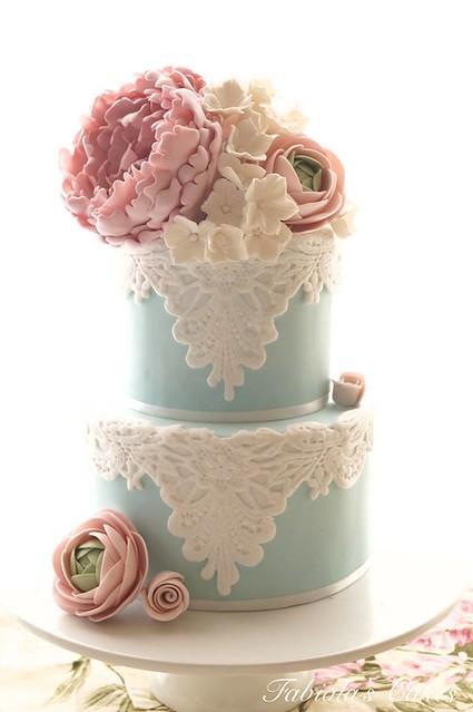 Wedding Cake by Fabiola's Cakes