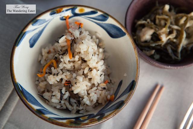 Stir fried rice with pork
