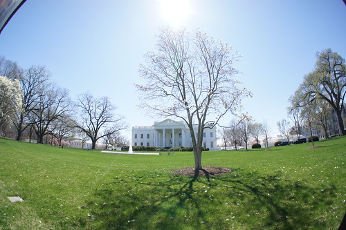 White House in Fisheye 3:2