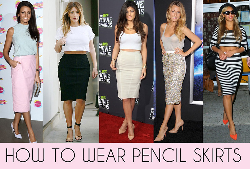 10 ways to wear a pencil skirt for work