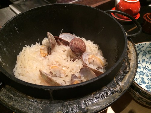 あさりと新生姜の炊き込みご飯@やさいと、