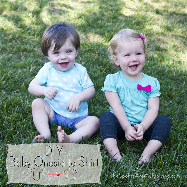 DIY Baby Onesie To Shirt