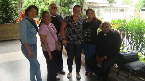 With Yepci, Laura Restrepo, Charli, Yenny Gamboa and Pastor Abel Garcia