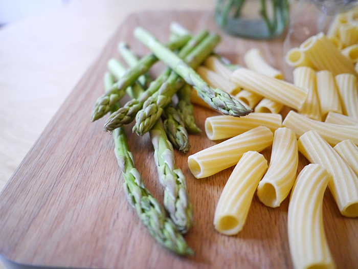 degustabox recipe asparagus and lemon pasta 7