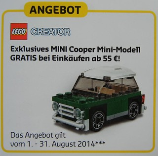 LEGO Creator August German Promotion