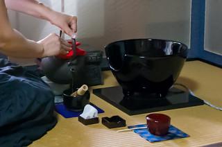 """今日のお菓子 No.152 – お干菓子 """"善光寺"""" と 主菓子 """"紫陽花"""""""