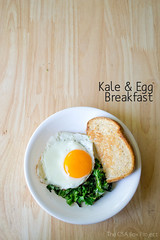 Kale & Egg Breakfast | The CSA Box Project