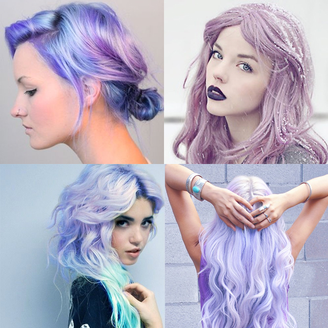 lilac hair how to