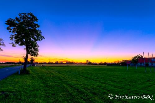 Sonnenuntergang bei Düsedau