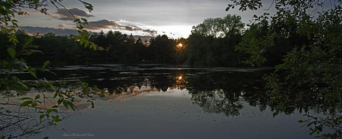 trees sunset panorama lake water reflections evening newjersey pond nikon westmilford melodylake d3100 smack53