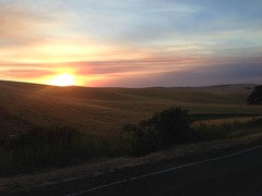 Just another sunset on the Palouse.