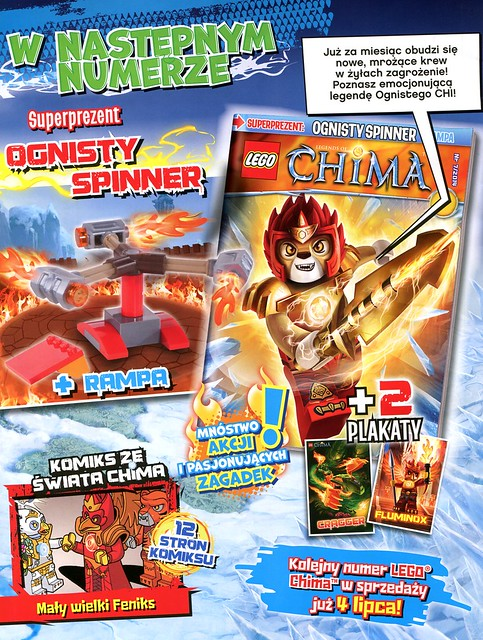 LEGO Legends of Chima Oficjalny Magazyn 2014-06 03